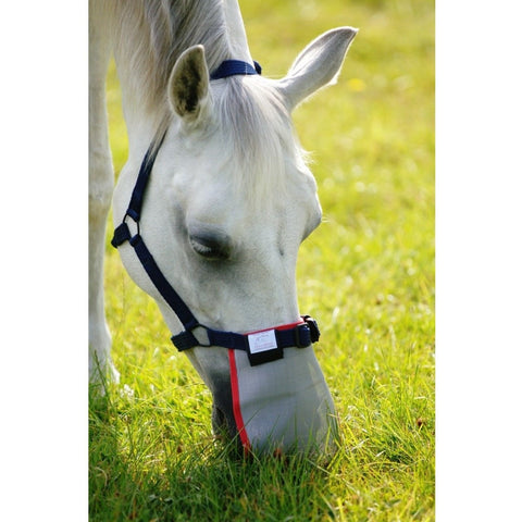 The Equilibrium Field Relief Muzzle Protector from Equilibrium Products, available at 4Equine.com