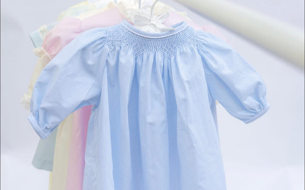 Do Say Give Boys Hand Smocked Bishop Daygown