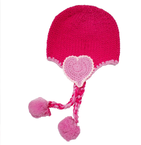 Beloved Heart Beanie Hat