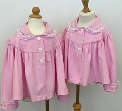 Pink Corduroy Heirloom Swing Jacket