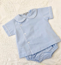 Baby Blue Boys Diaper Set