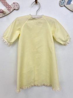 Frances Rose Baby ~ Girls Yellow Batiste Heirloom Daygown