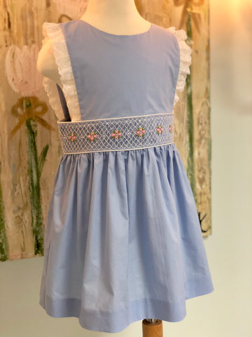 "Hand Smocked ""Savannah"" Dress"