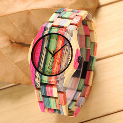 Wooden Rainbow Luxury Watch