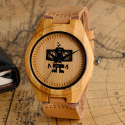 Robo Wood Watch