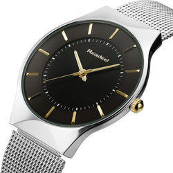 Ultra Thin Steel Analogue Watch