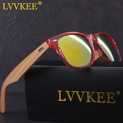 LVVKEE Eco Friendly Bamboo Composite Sunglasses