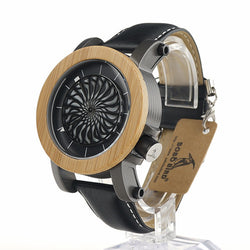 Hollow-Out Kinetic Art Luxury Watch