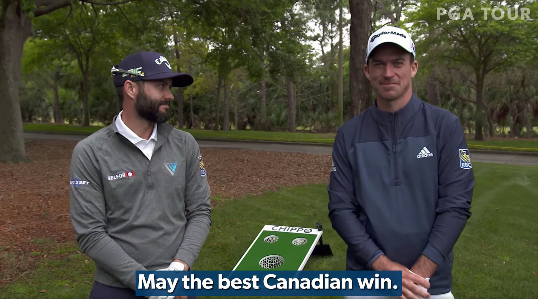 Chippo Challenge, Eh?: Hadwin vs. Taylor, Battle of the Canadians