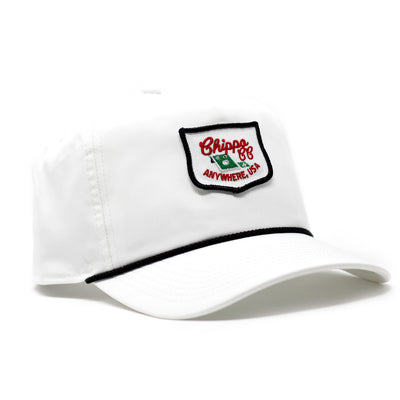 Members Only Chippo Rope Hat (White)