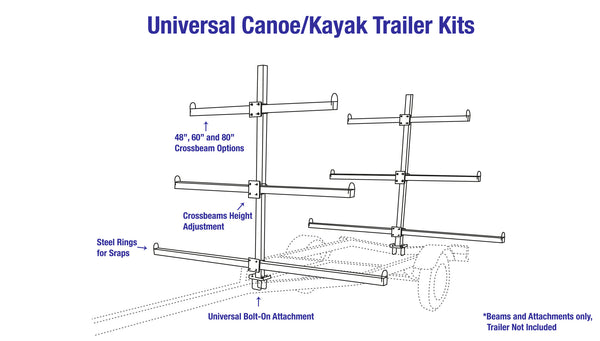 kayak trailer schematic