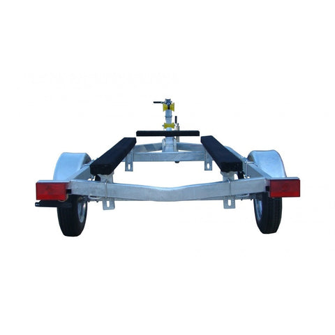 Galvanized 16' Jon Boat Trailer