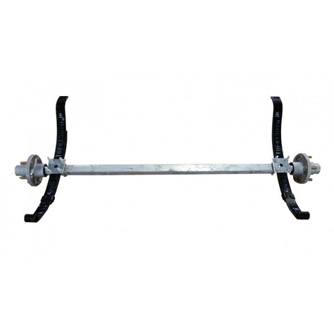 Single PWC Trailer Axle w/ Hubs and Springs