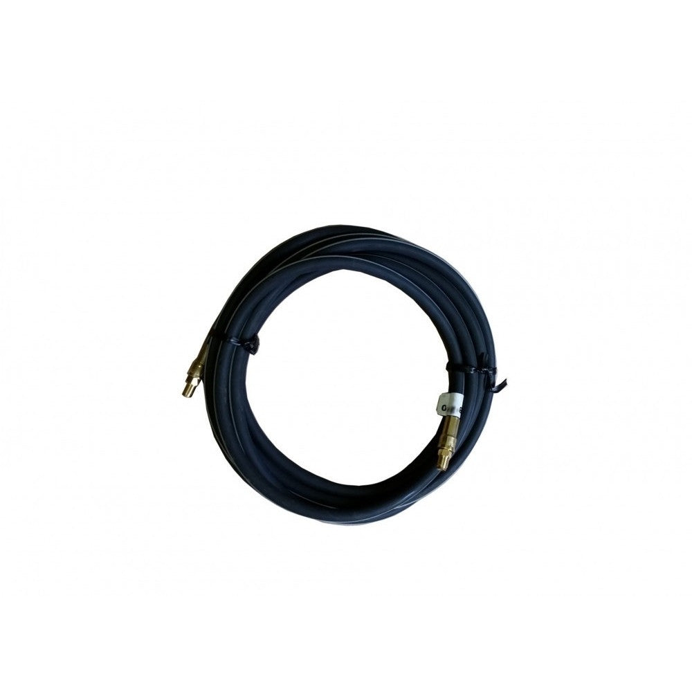 192″ Black Flex Hose Male-Male Brake Line