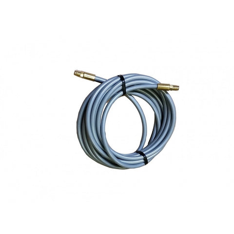 240″ Grey Poly Flex Male-Banjo Brake Line