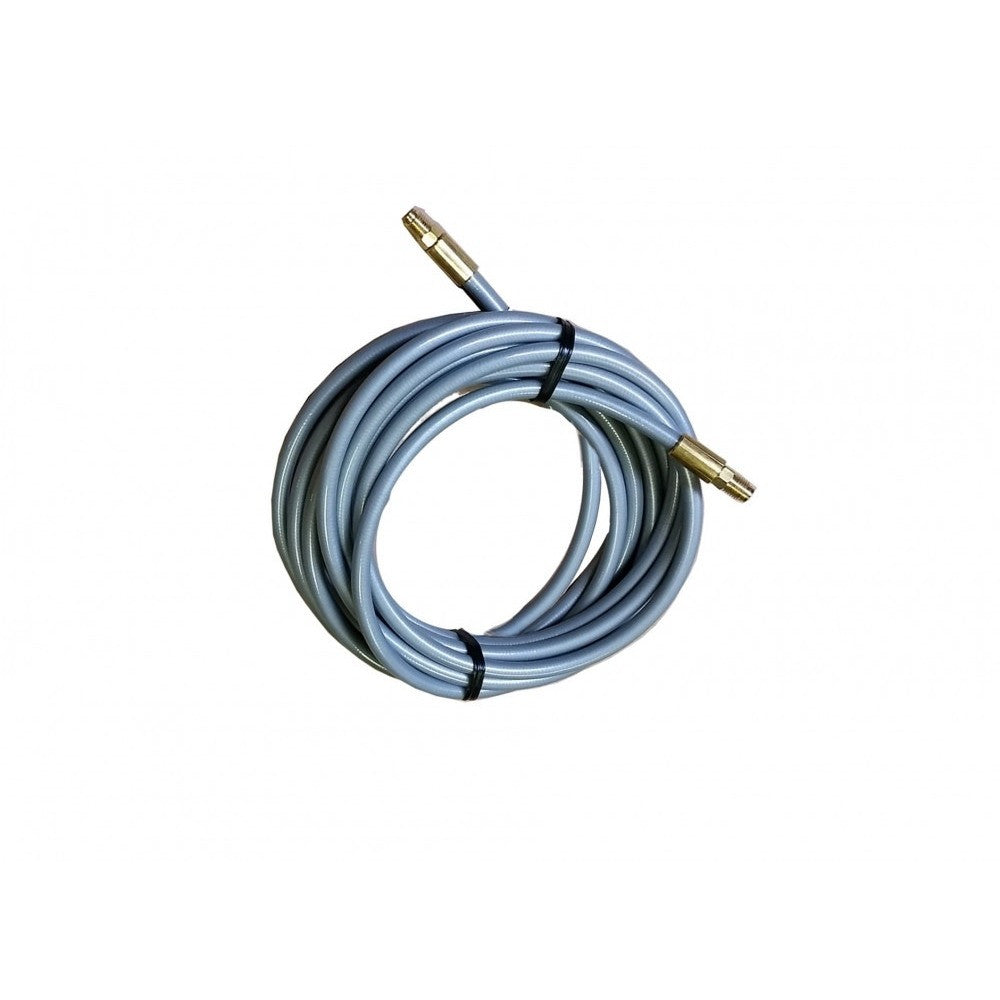 264″ Grey Poly Flex Hose Male-Male Brake Line