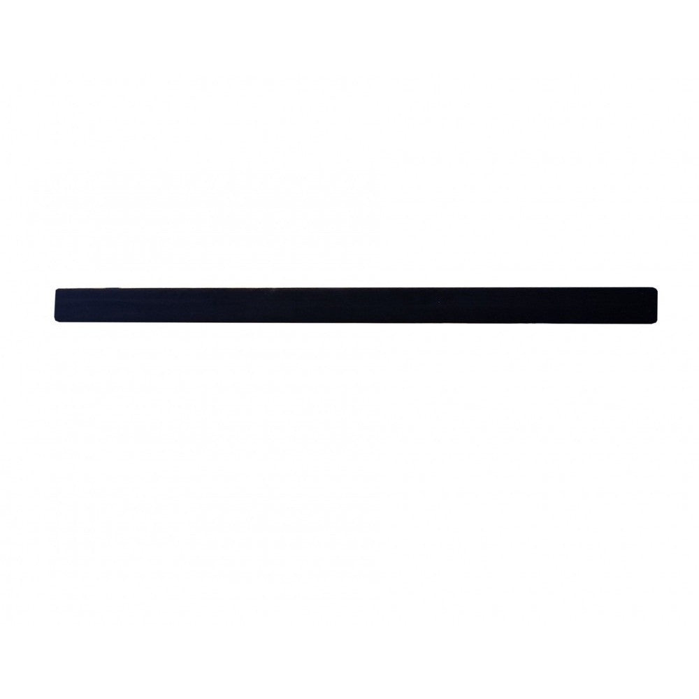 2″ x 4″ x 10′ Black Marine Carpeted Bunk Board
