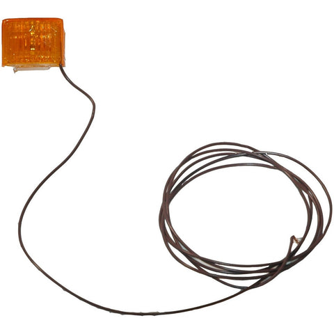 Dry Launch Amber Side Marker Light w/ 90″ of Wire