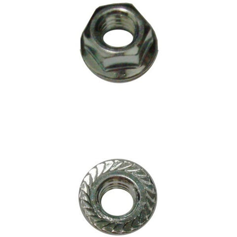 3/8″-16 Serrated Zinc Flange Nut