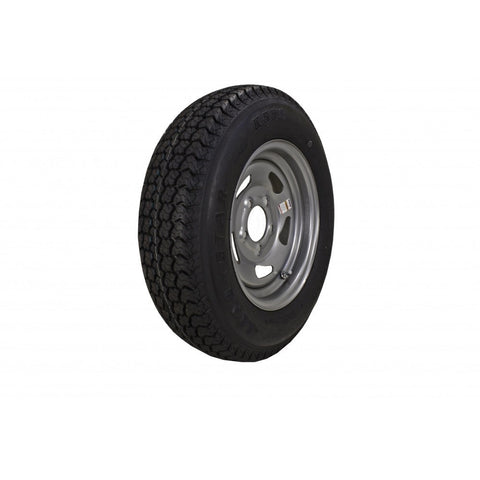ST175/80D13 C Load Range, 13″ Silver E-Coat Tire & Wheel