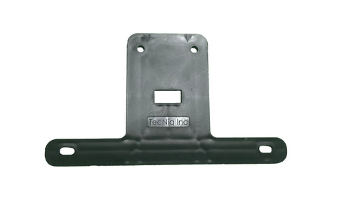 License Plate Bracket by TecNiq, black