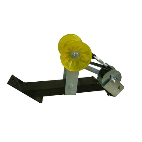 Black Winch Assembly w/ DL 900 lb Winch