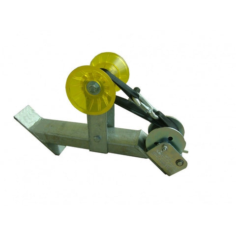 Galvanized Winch Assembly w/ DL 900 lb Winch