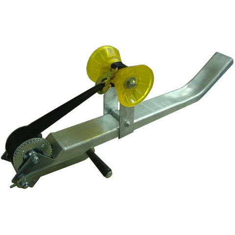 "32"" Galvanized Jon Boat Trailer Winch Assembly w/ RAM 600"