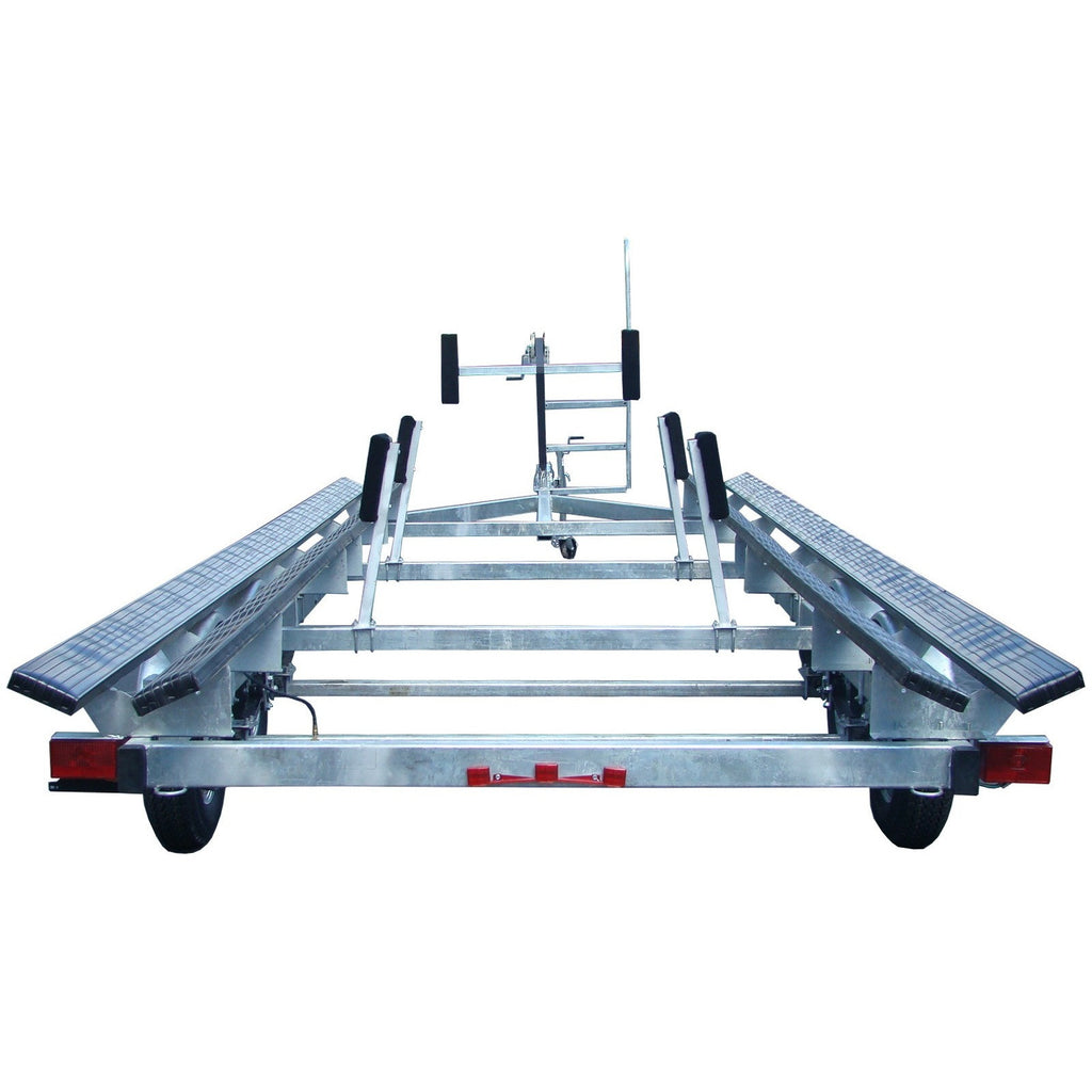 PT2224G - Galvanized 24' Pontoon Boat Trailer