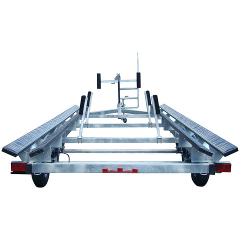 PT2224G | Galvanized Trailer for 24' Pontoon Boat