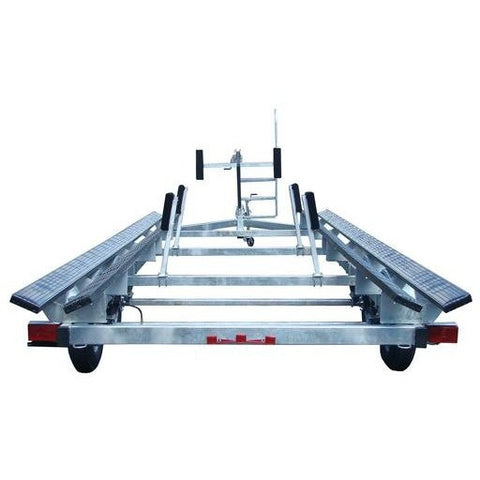 PT2426G - Galvanized 26' Pontoon Boat Trailer
