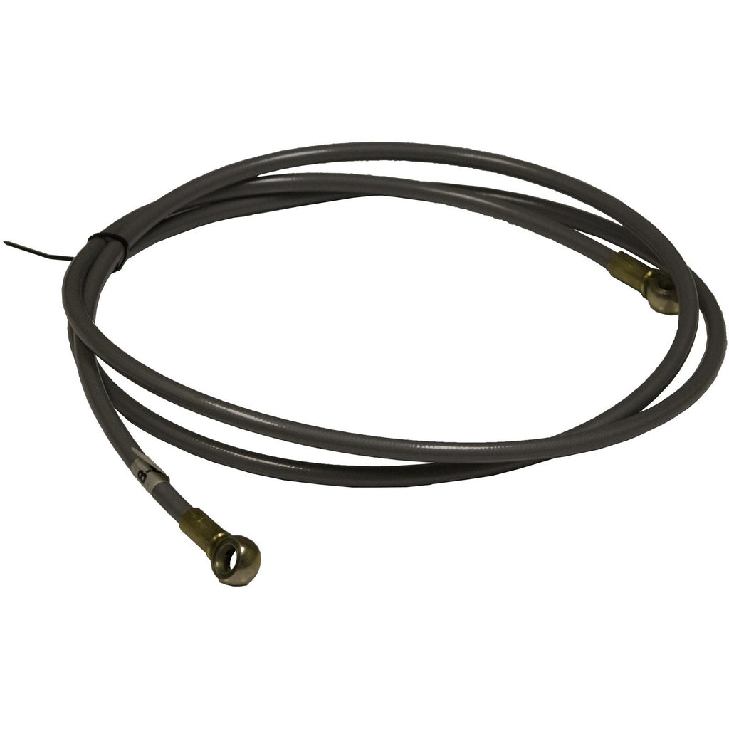 84″ Grey Flex Hose Banjo-Banjo Brake Line