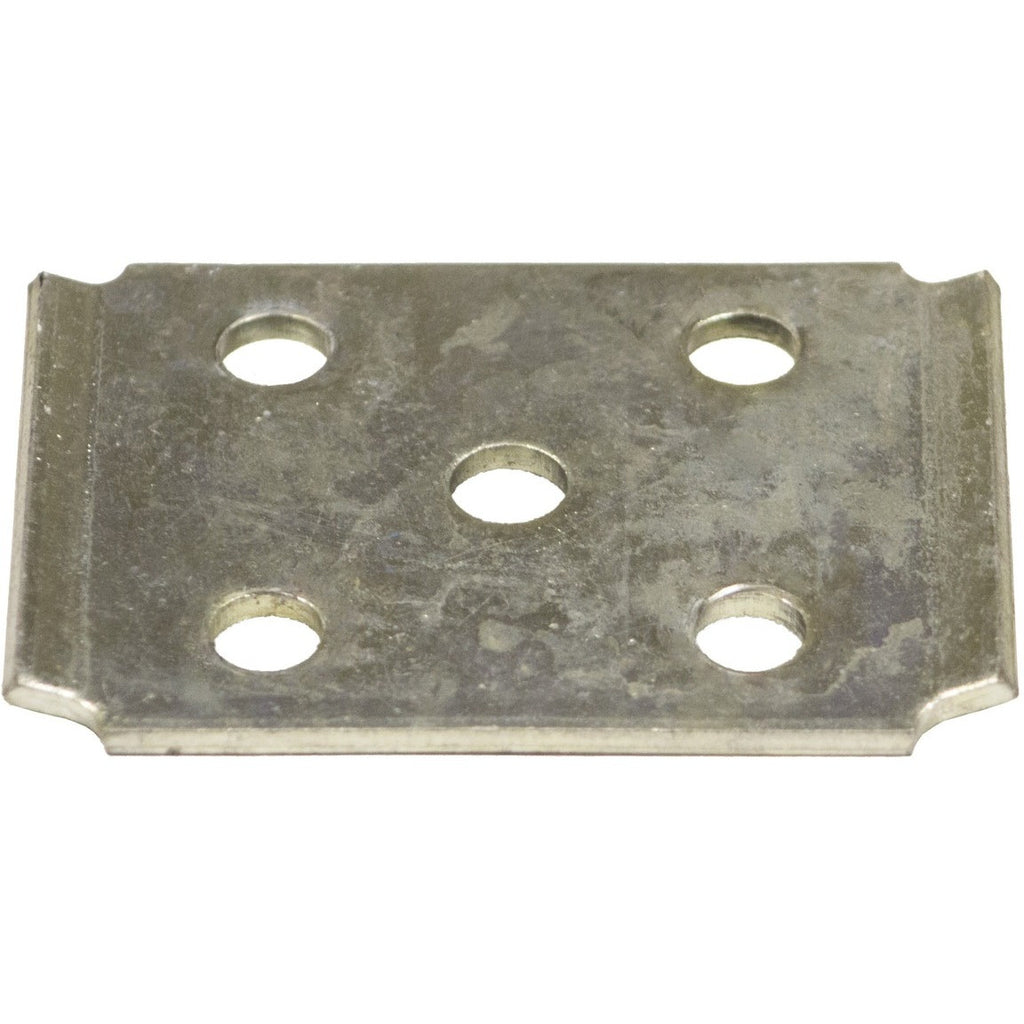 "BATIE190Z Zinc Tie Plate for 2"" Square Axle Tubing"