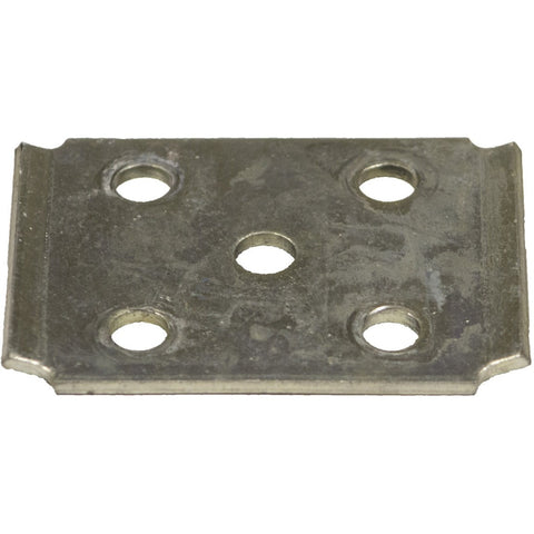 "Galvanized Tie Plate for 2"" Square Axle Tubing"