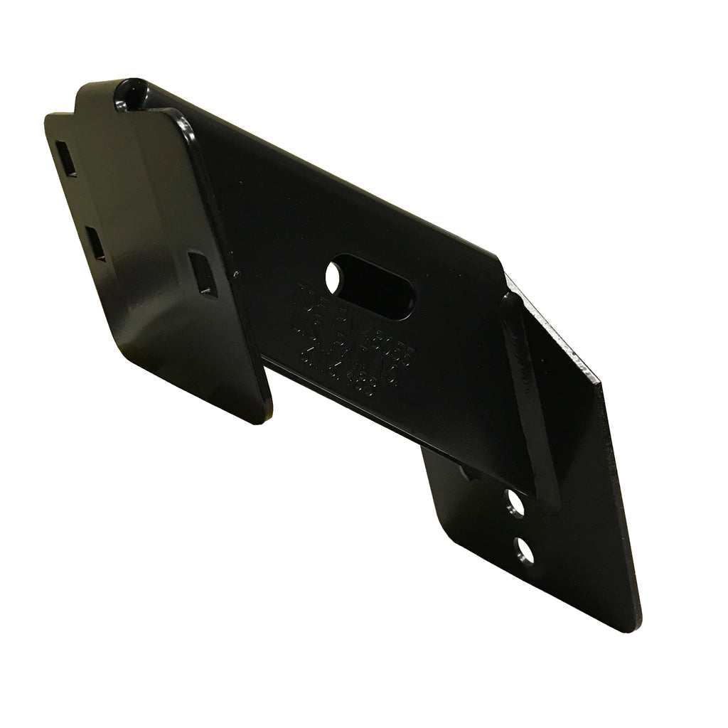 Powder Coated Side Mount Spare Tire Carrier
