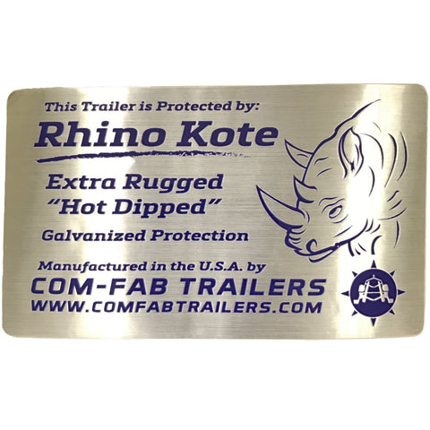 "Rhino Kote Galvanizing Graphic (4.5"" x 3.5"")"
