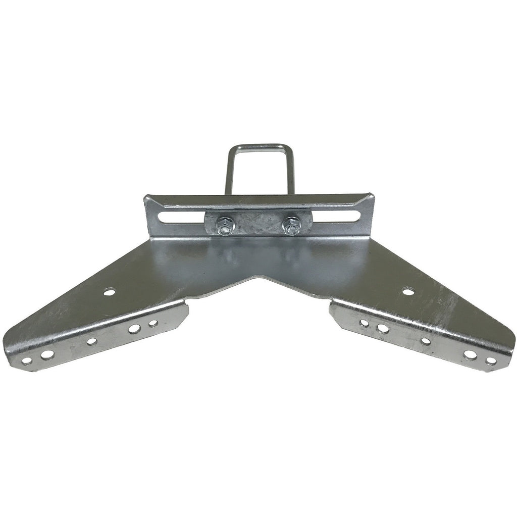 Tall Galvanized Pontoon Boat Trailer Bunk Bracket Kit
