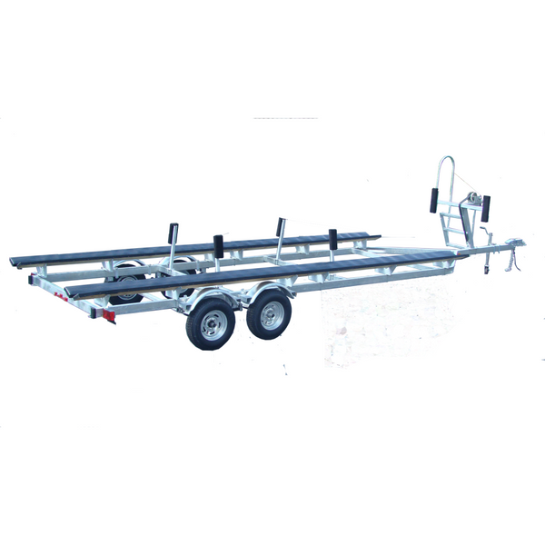 Galvanized 24' Pontoon Boat Trailer