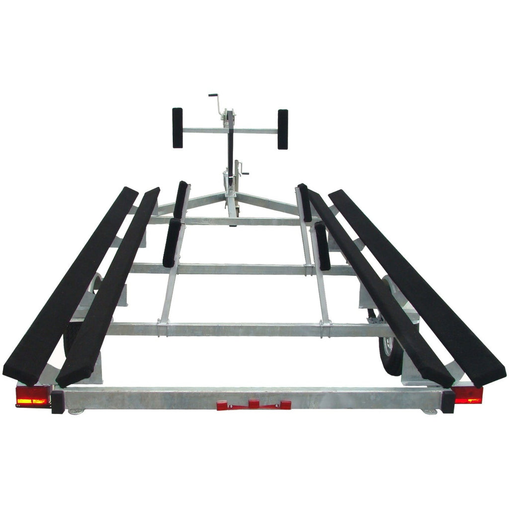 PT1820G - Galvanized 20' Pontoon Boat Trailer