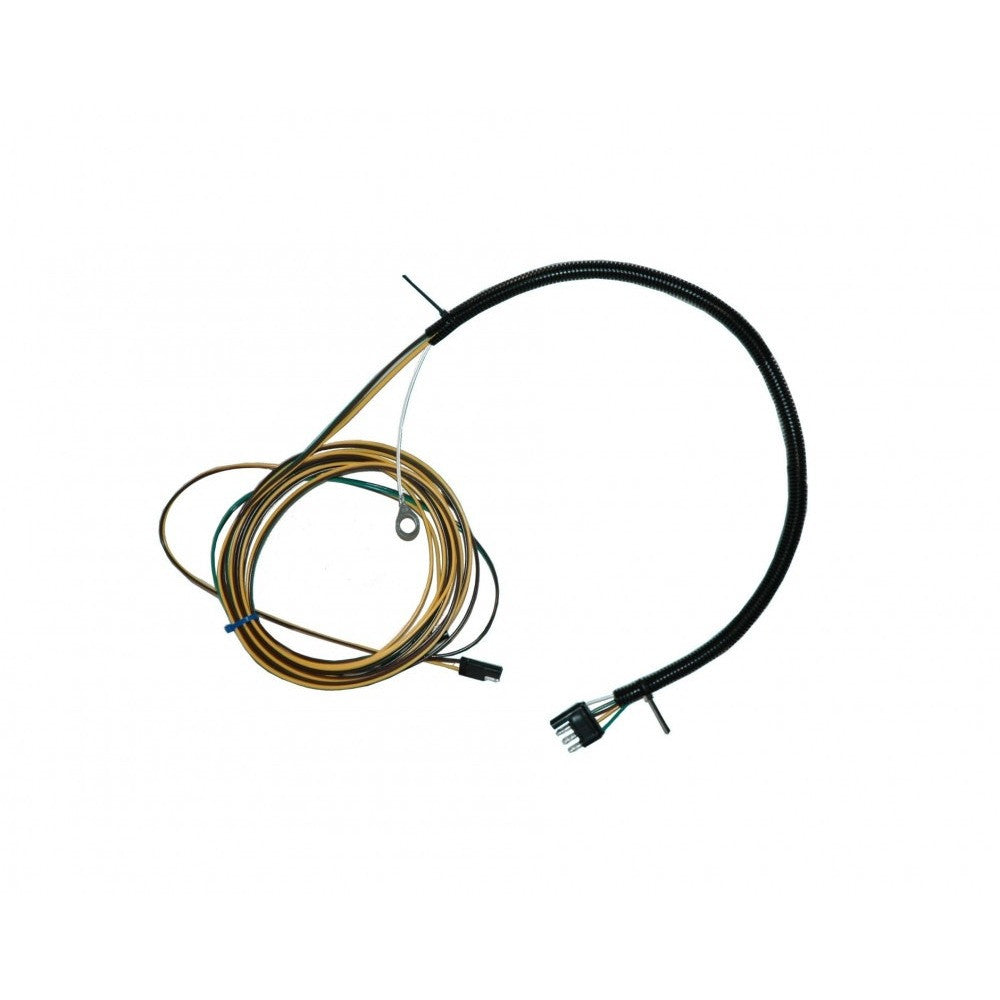 35' Wire Harness Assembled w/ Protective Sleeve
