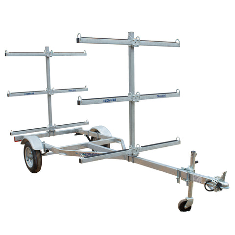 6 Capacity Canoe/Kayak Trailer