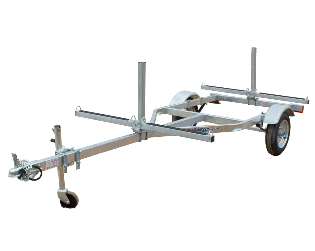 2 Capacity Canoe/Kayak Trailer