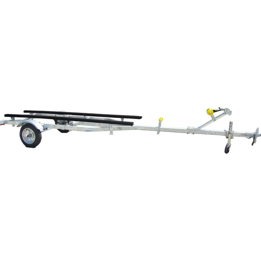 JBT1600G - Galvanized 'River Hawk' Jon Boat Trailer
