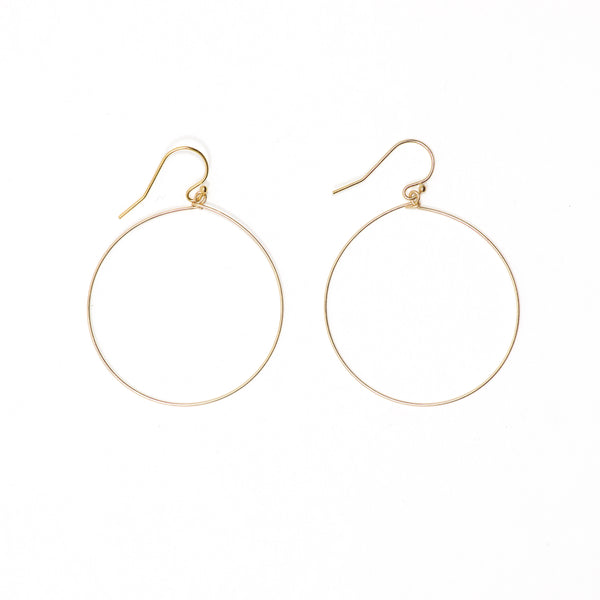 Small Simple Hoop Earring