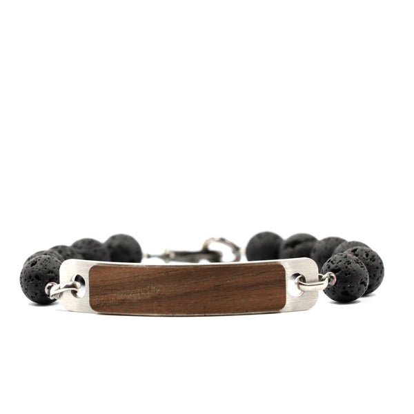 Black Lava 'Beast Mode' Bracelet
