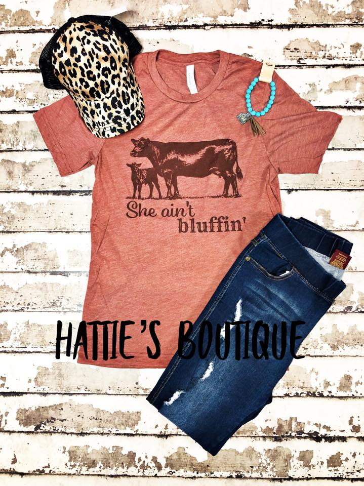 She Ain't Bluffin' - Hattie's Boutique