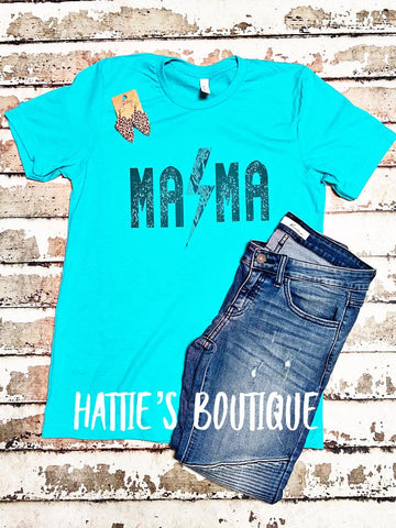 Rock N Roll Mama Tee - Hattie's Boutique