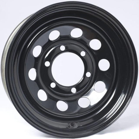 "15"" Wheel, Black Modular, 6 on 5.5"" Wheels & Fenders Nationwide Trailers Parts Store"