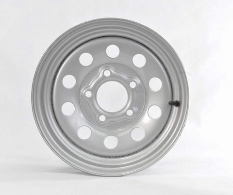 "15"" Wheel, Silver Modular, 5 on 4.5"" Wheels & Fenders Nationwide Trailers Parts Store"
