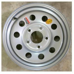 "15"" Wheel, Silver Modular, 5 on 5"" Wheels & Fenders Nationwide Trailers Parts Store"